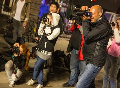 Teilnehmer Shooting bei der LNDFW