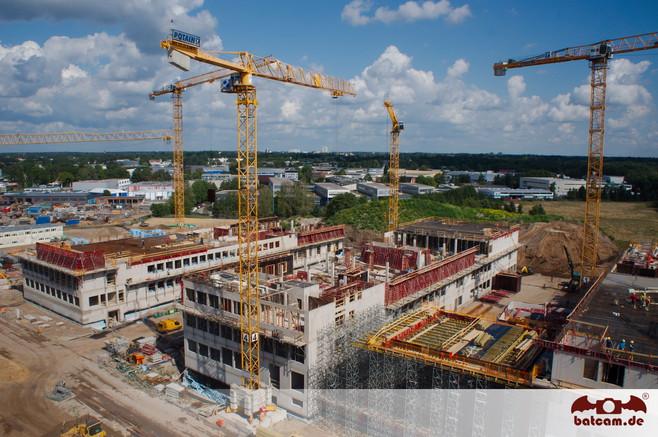 Auch Großbaustellen gehören zu Siegerts Auftraggebern.