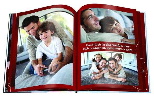 Ein emotionales Weihnachtsgeschenk: das Familien-Fotobuch