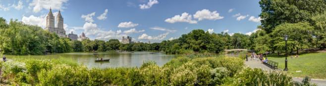 ...oder in New York einen virtuellen Kurztrip im Central Park zu beginnen?