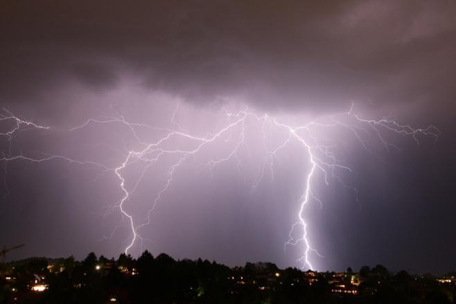 Blitze einfangen - kein leichtes Spiel