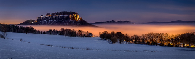 """Festung Königstein"" - Copyright: Oliver Haller/photomonda"