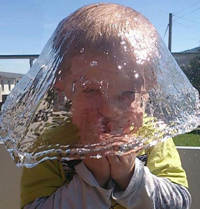 Hut aus Wasser