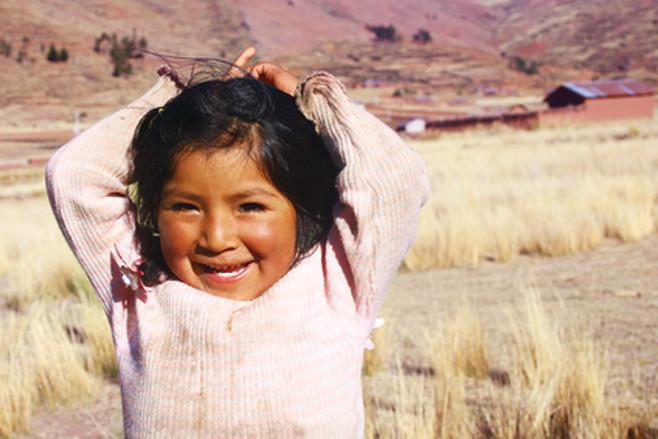 Aymara girl
