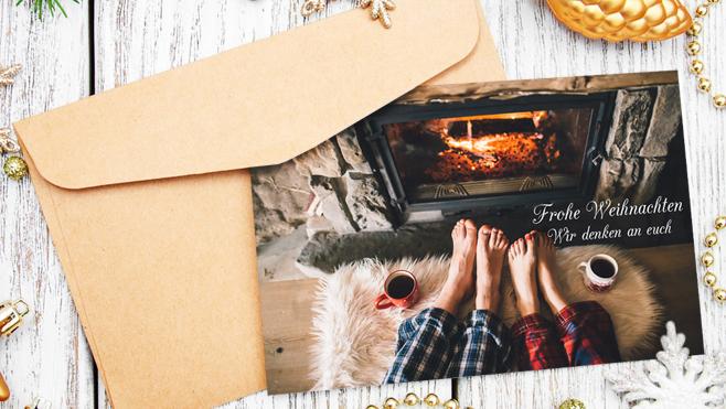 my moments Grußkarten zu Weihnachten