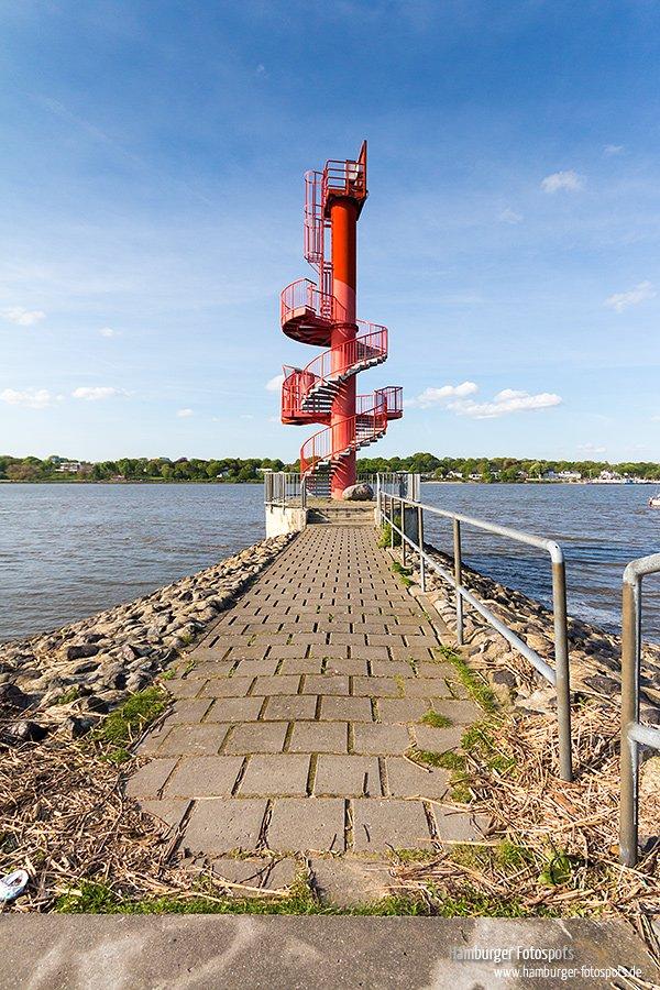 Aussichtsturm Finkenwerder Rueschweg - Copyright Daniel Peters - http://hamburger-fotospots.de