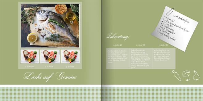 Kochbuch gestalten mit my moments