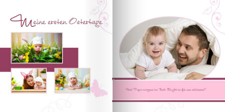 babyfotobuch die sch nsten fotos ihres babys als fotobuch. Black Bedroom Furniture Sets. Home Design Ideas